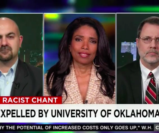 "Areva Martin breaks down Oklahoma U racist rants on ""CNN Tonight w/Don Lemon"""