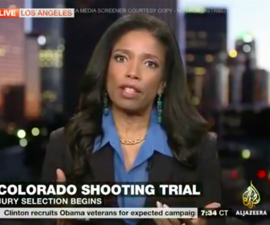 Legal Analyst Areva Martin discusses the Aurora, Colorado shooting trial on Al Jazeera