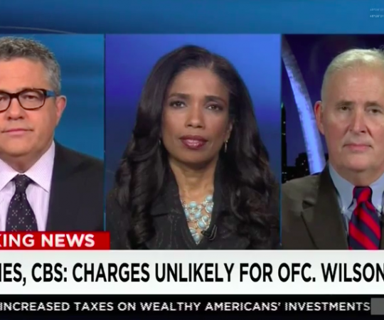 "Areva Martin legal analysis on ""AC360""; Ferguson case justice developments"