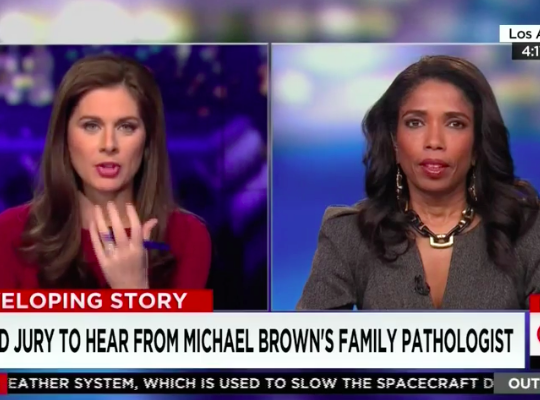 "Legal analyst Areva Martin on Ferguson grand jury ""Erin Burnett"""