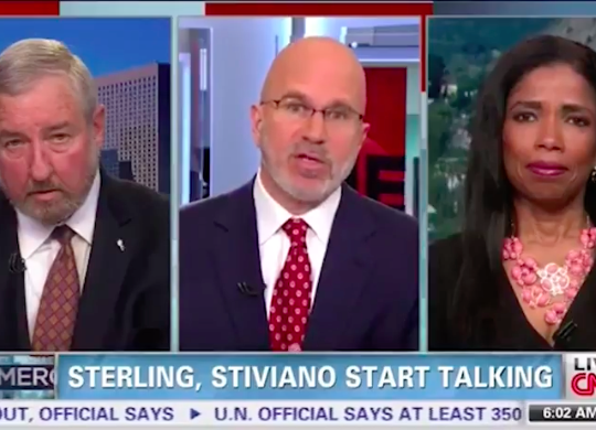 Legal Correspondent Areva Martin – Smerconish/CNN – Donald Sterling