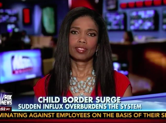 "Areva Martin on ""Fox & Friends"" Discussing Illegal Immigration with Elisabeth Hasselback"