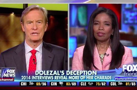 "Areva Martin breaks down the Rachel Dolezal controversy on ""FOX & Friends"""