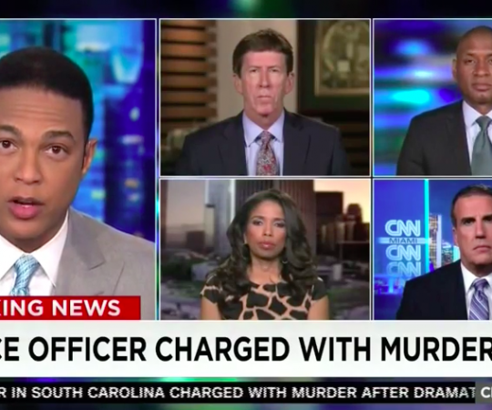 "Areva Martin's Legal Analysis on So. Carolina Shooting on ""CNN Tonight"""