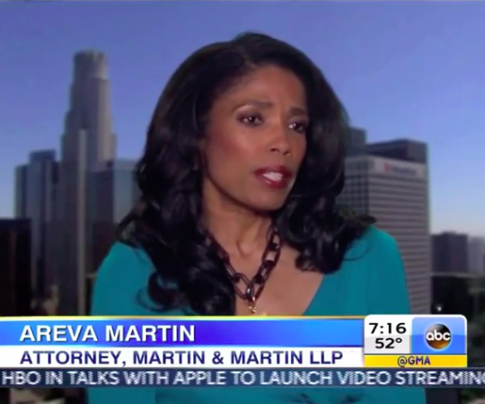 "Legal analyst Areva Martin on the ""Blurred Lines"" copyright infringhment trial on ""GMA"""