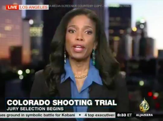 Legal Analyst Areva Martin discusses the Aurora, Colorado shooting trial on Al Jazeera