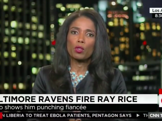 "Legal Correspondent AREVA MARTIN on Ray Rice domestic abuse ""CNN Tonight"