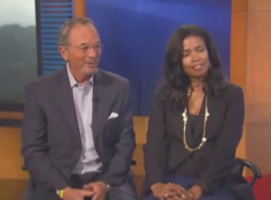 Areva Martin and Steve Mauldin Discussing Stephanie's Day and Autism Insurance Bill on KCAL 9 News