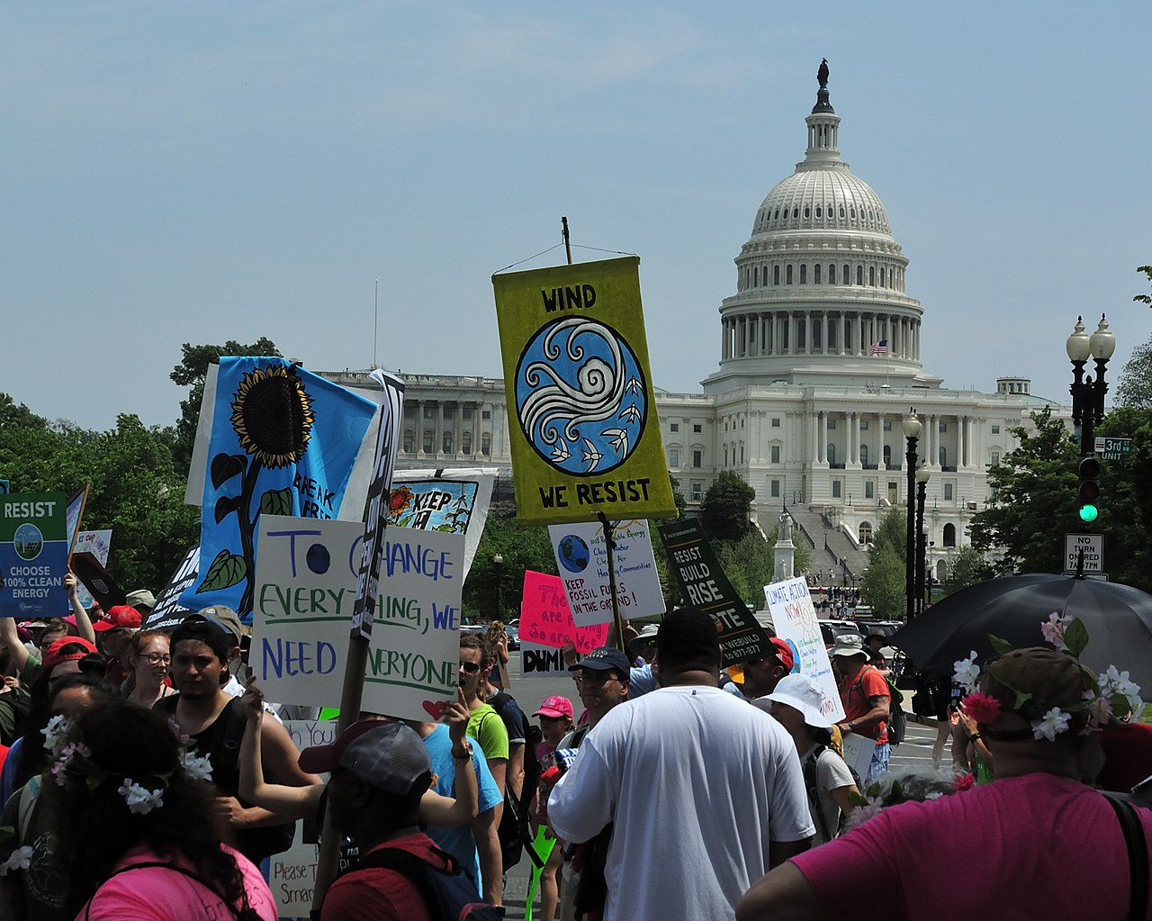7 Most Significant Accomplishments of Social Justice in 2017 - Climate March - Areva Martin